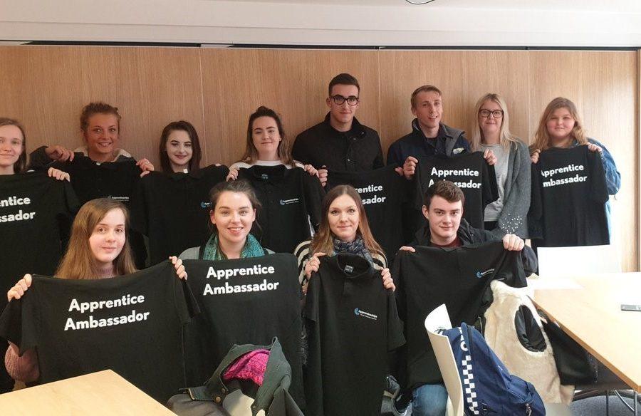 young apprenticeships ambassadors 900x584 - Cornwall's Young Apprenticeship Ambassadors spread the word