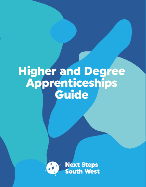 Nextsteps Higher Degree Guide 1 471x600 - New Higher and Degree Apprenticeship Guide from Next Steps South West
