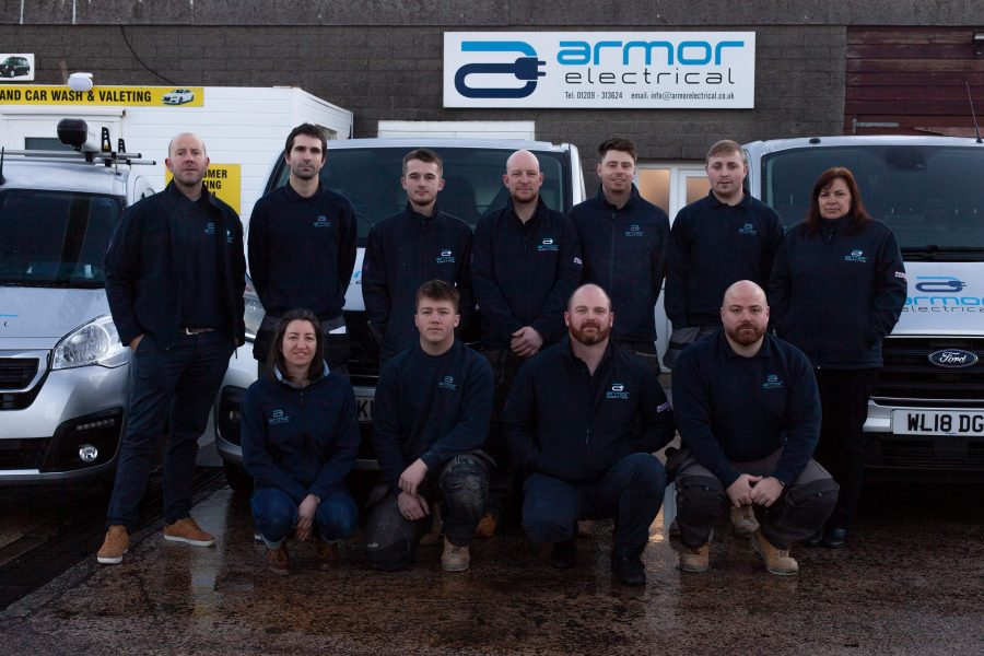 Armor team photo 2020 900x600 - Armor Electrical